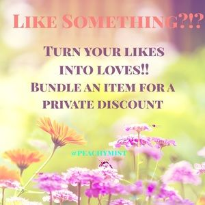 Handbags - BUNDLE YOUR LIKES FOR A PRIVATE DISCOUNT ❣️